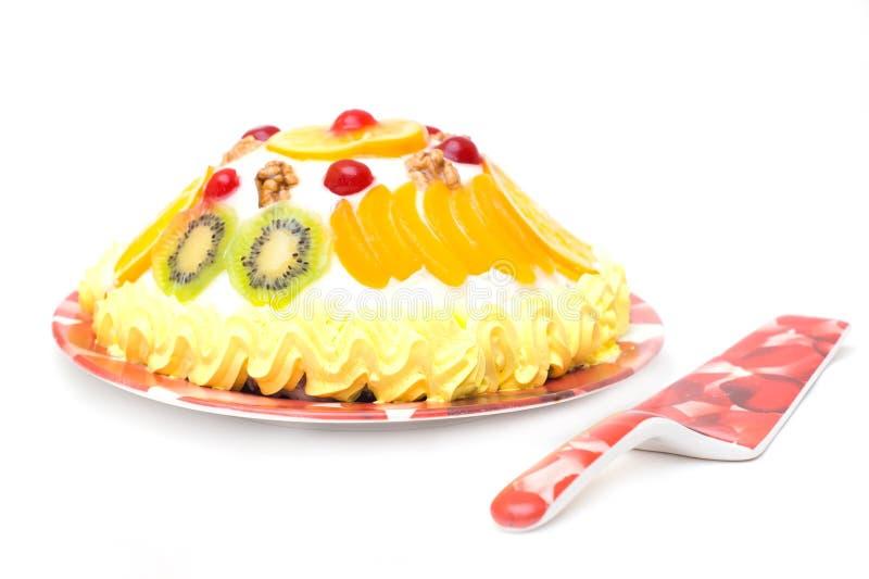 Download Tortowa owoc zdjęcie stock. Obraz złożonej z jagody, abstrakt - 13337712