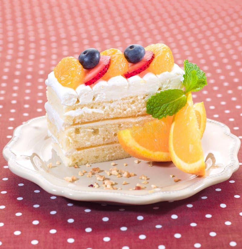 tortowa pomarańcze zdjęcie stock