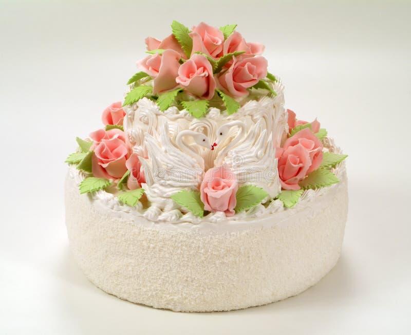 tortowe róże zdjęcia royalty free