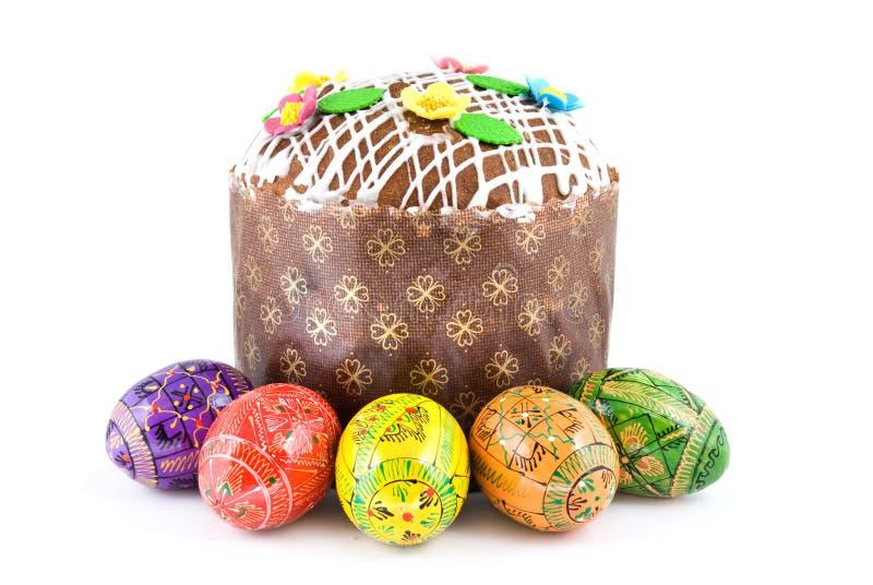tortowi Easter jajka zdjęcie stock