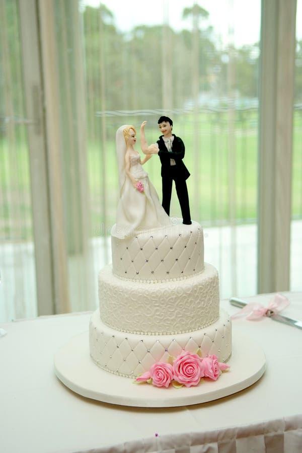 tortowy ślub zdjęcie stock