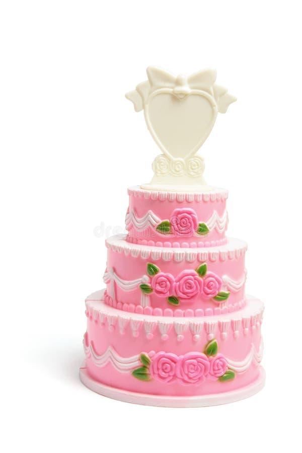 tortowy figurki miniatury ślub obrazy royalty free