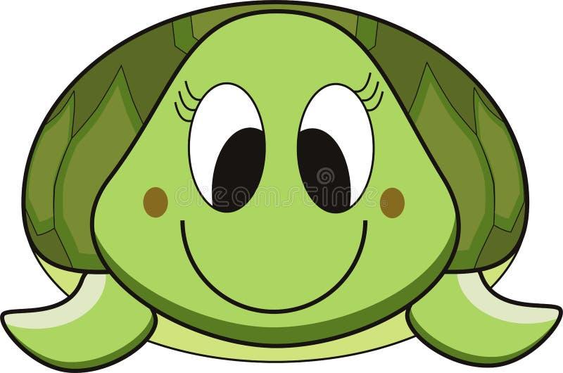 tortue de dessin animé illustration de vecteur