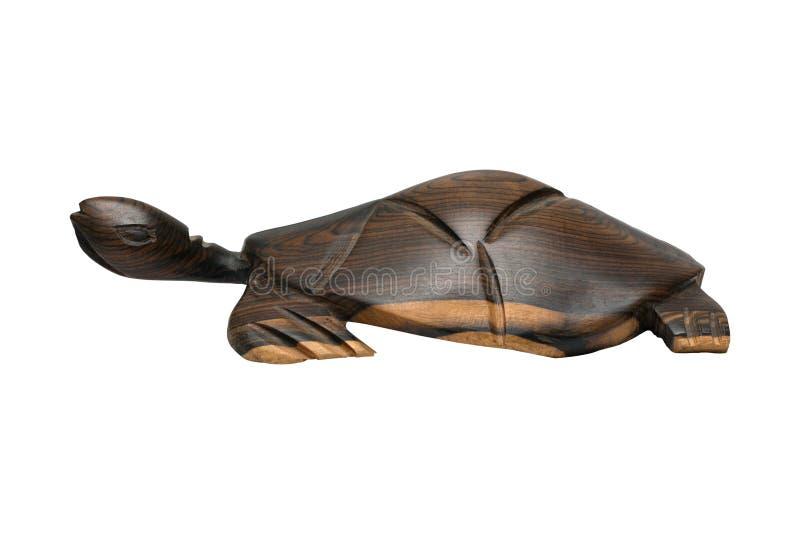 Tortue en bois image stock