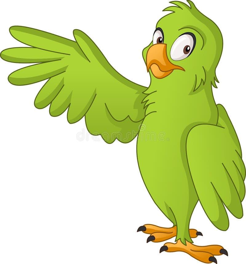 Tortue mignonne de bande dessinée Illustration de vecteur d'animal heureux drôle Perroquet mignon de bande dessinée Illustration  illustration stock