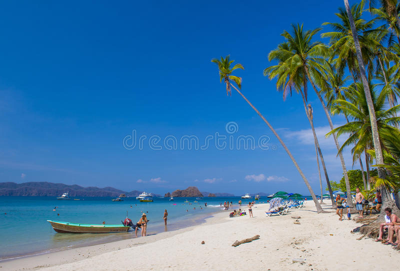 Tortuga Island , Costa Rica royalty free stock photography