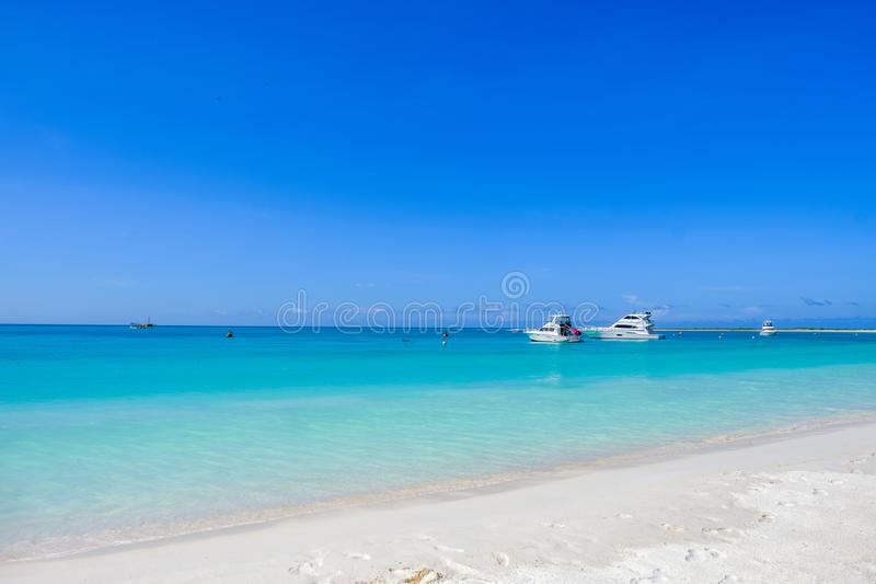 Tortuga Island, Venezuela, Paradise on earth. The beautiful sight at Tortuga Island, Venezuela, during a hot summer day stock images