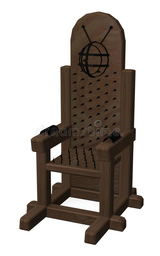 tortural的椅子 向量例证