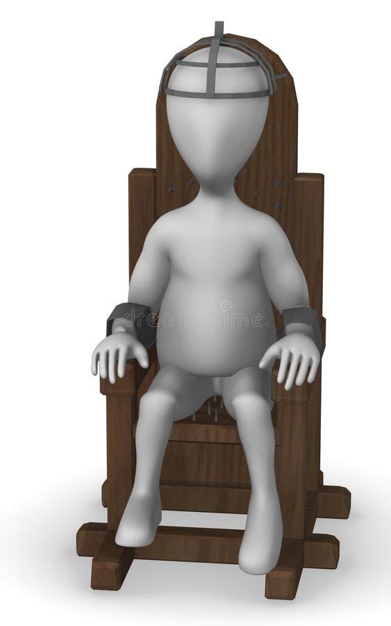 Download Tortural chair stock illustration. Illustration of figure - 14954030