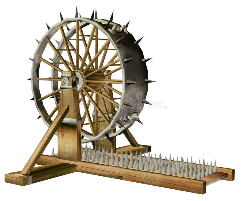 Download Torture Wheel Royalty Free Stock Photography - Image: 17646137