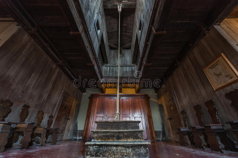 Tortures Hall. In Doge Palace prison. Venice, Italy stock photos