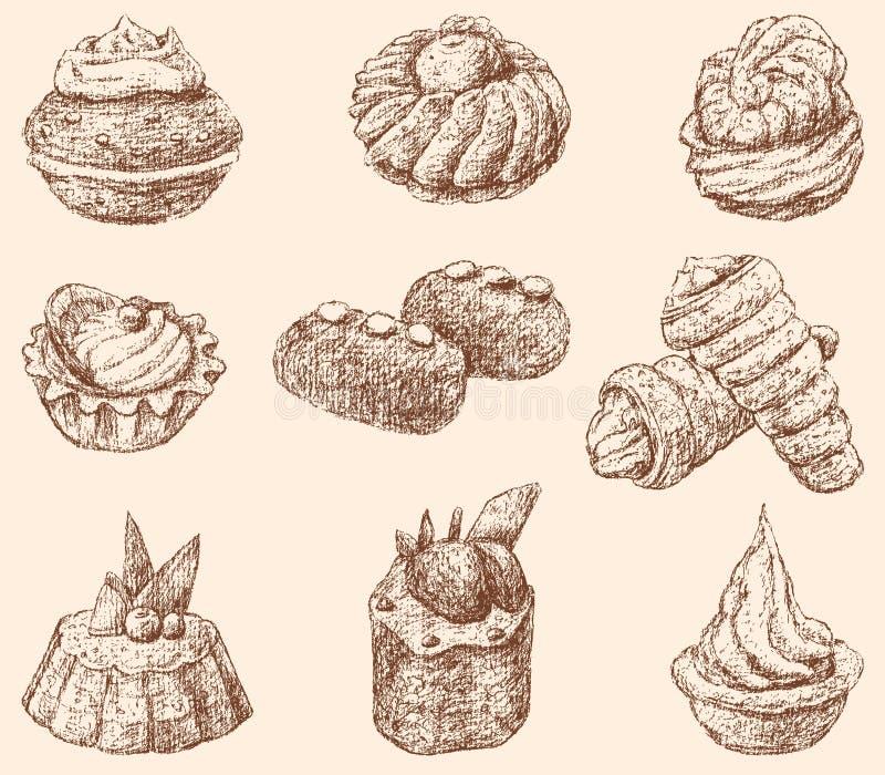 torty royalty ilustracja