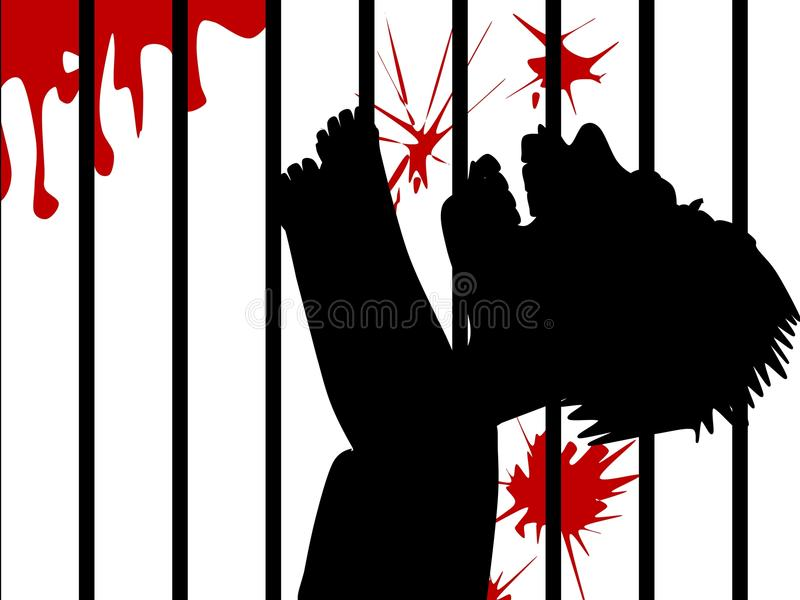 Tortyr stock illustrationer