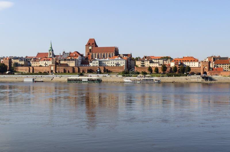 Torun en Pologne images libres de droits