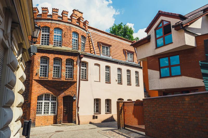 Torun is listed among the UNESCO World Heritage Sites. Birthplace of Nicolaus Copernicus stock photography