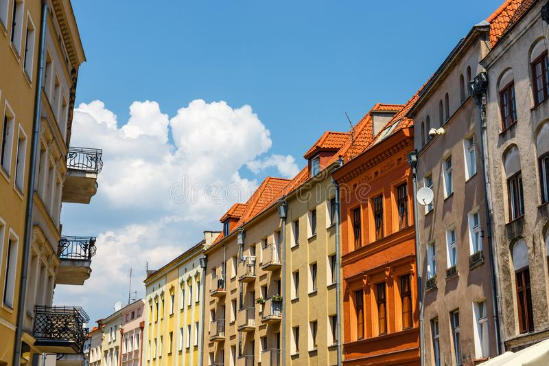 Torun is listed among the UNESCO World Heritage Sites. Birthplace of Nicolaus Copernicus royalty free stock photos