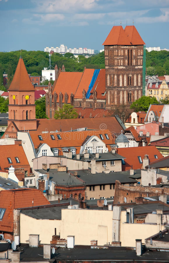 Download Torun, Poland - rooftops stock image. Image of architecture - 19427765