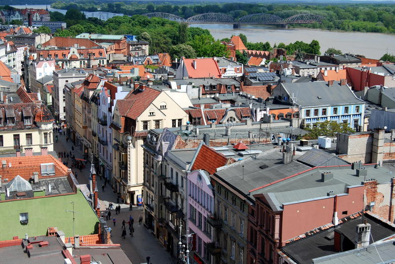 Torun, Poland: View of the City
