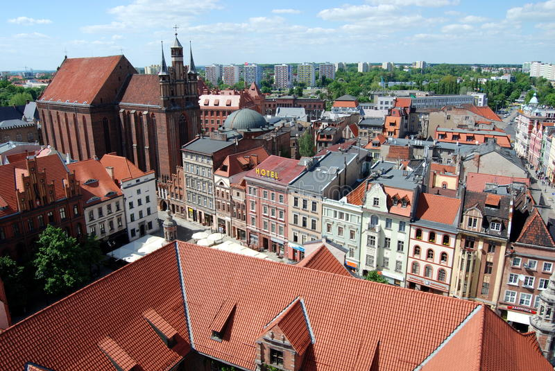 Download Torun, Poland: View Of Old City Editorial Photo - Image: 15374306