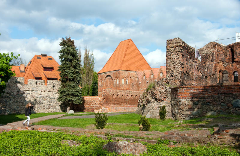 Download Torun, ruins of castle stock image. Image of touristic - 19427549