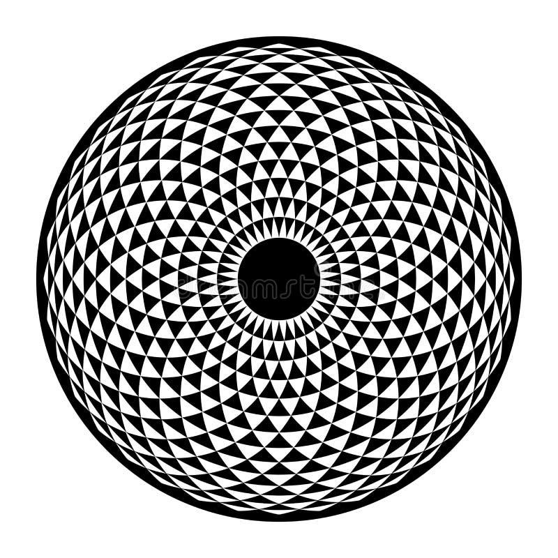 Free Torus Yantra, Hypnotic Eye Sacred Geometry Basic Element Stock Photos - 64830093