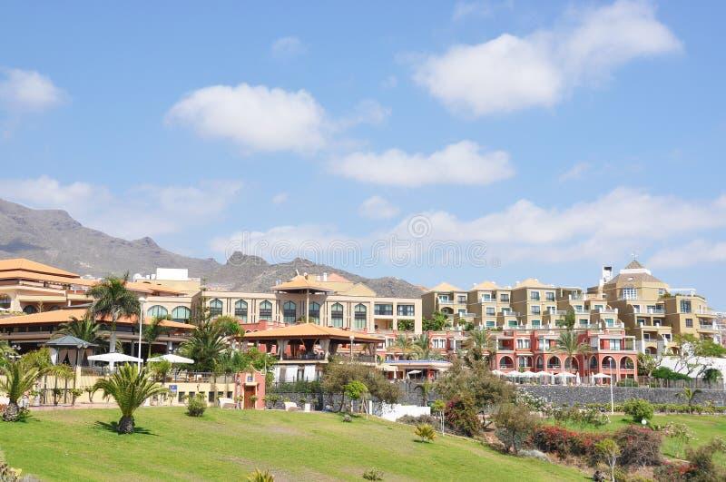 Torviscas Playa. Het eiland van Tenerife, kanaries royalty-vrije stock fotografie