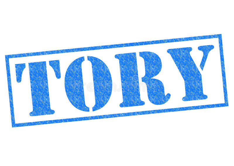 TORY Rubber Stamp stock foto