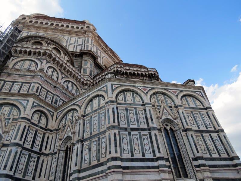 Toscânia, Florença, catedral de Santa Maria del Fiore imagem de stock