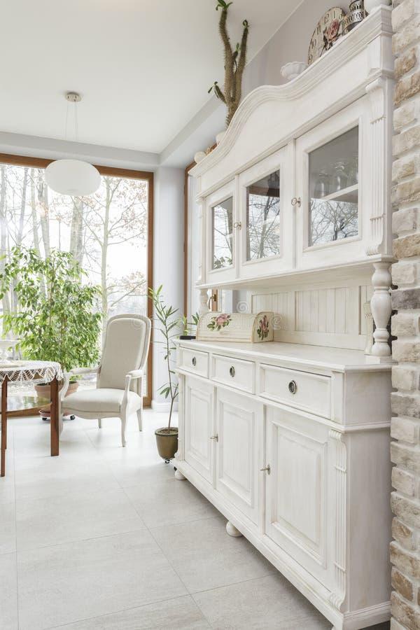 Toscânia - mobília da cozinha imagens de stock