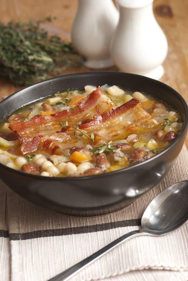 Toscaanse soep royalty-vrije stock afbeelding