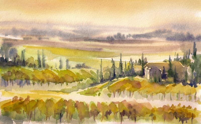 Toscana libre illustration