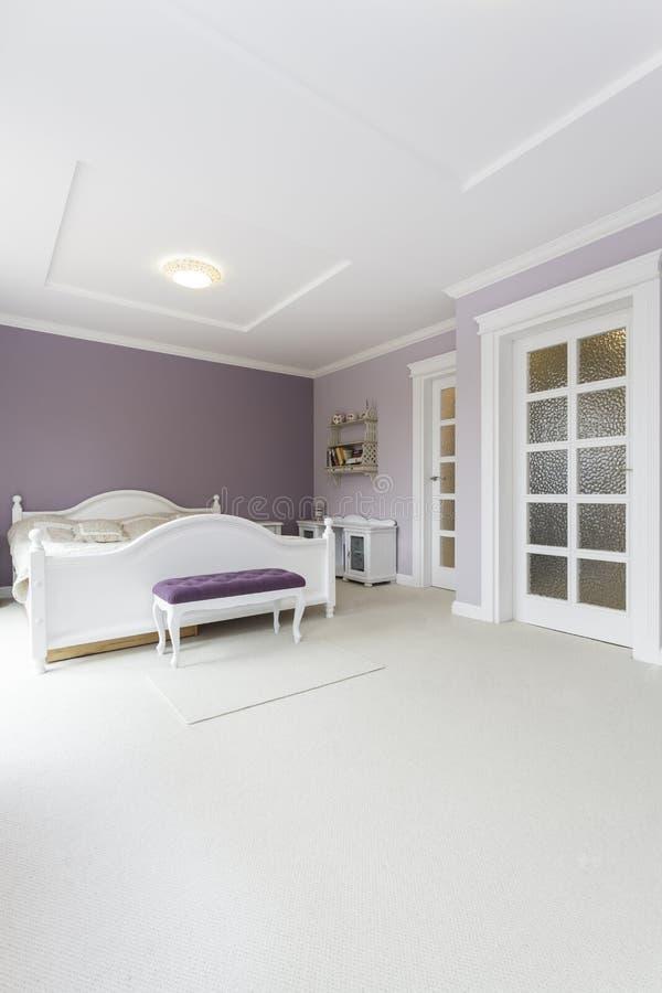 Toscana - dormitorio fotos de archivo