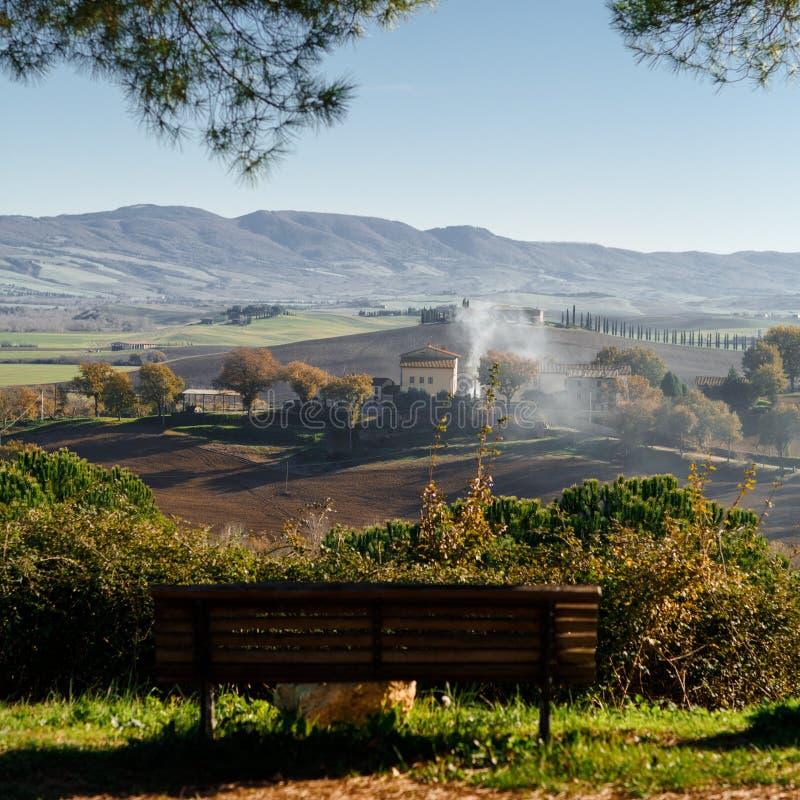 Toscana, Italia - paisaje foto de archivo libre de regalías