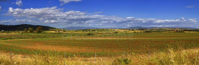 Toscana landscape, Italy stock photography