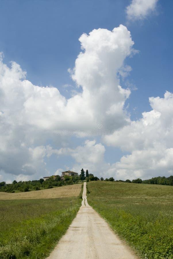 Toscana - Toscana mágicas foto de archivo