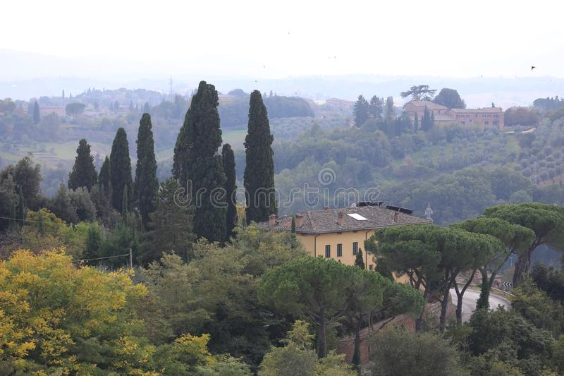 Toscane stockfoto