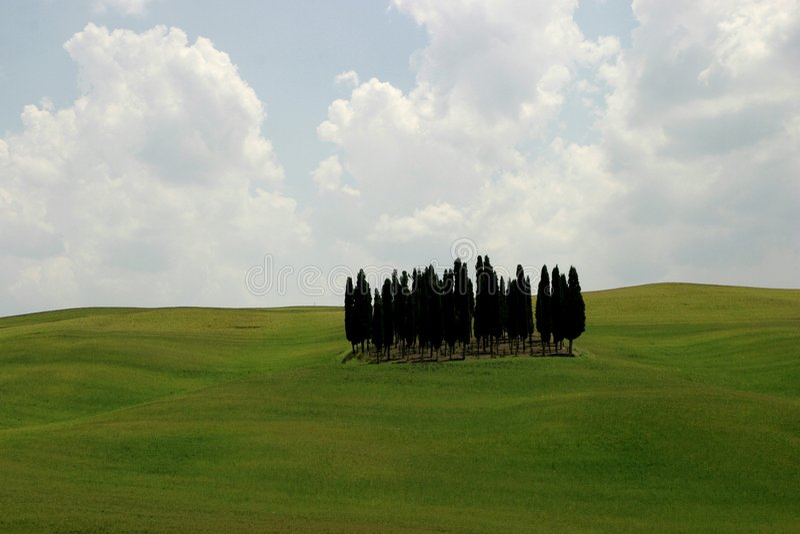 Toscanië royalty-vrije stock afbeelding