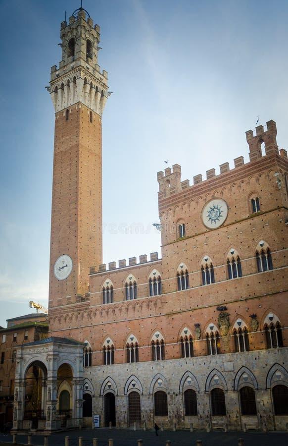 Toscanië - Siena stock afbeelding