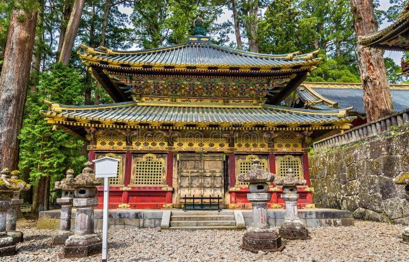 Tosho-gu en Shintorelikskrin i Nikko royaltyfria foton