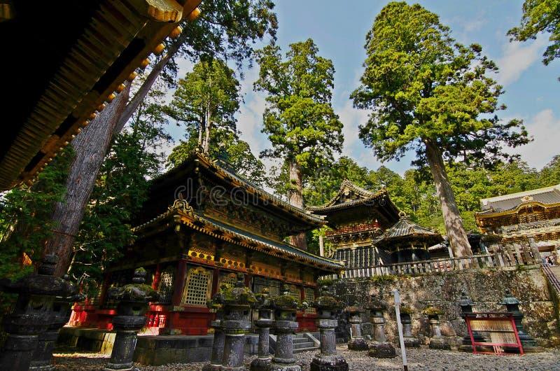 Tosho gu Heiligdom in Nikko, Tokyo royalty-vrije stock foto
