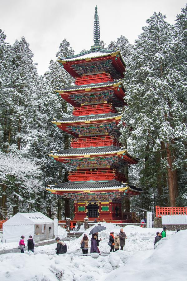 Tosho-gu Shinto shrine royalty free stock photos