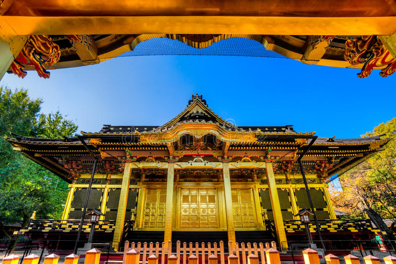 Tosho-Gu shrine, Tokyo, Japan. royalty free stock images