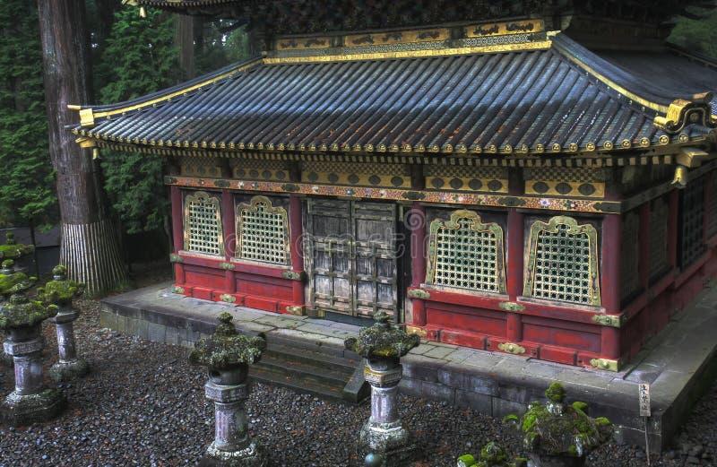 Toshogo Tempel, Nikko stockbilder