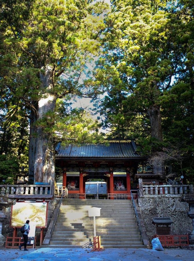 Toshogu relikskrin i Nikko, Japan royaltyfri foto