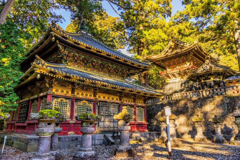 Toshogu-Schrein, Nikko, Japan stockbilder