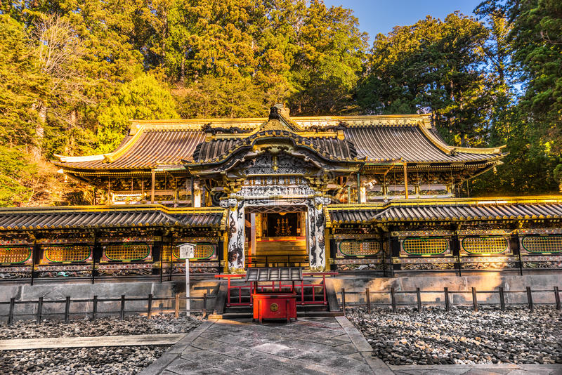 Toshogu Shrine, Nikko, Japan. royalty free stock photography