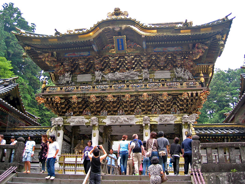Toshogu Temple royalty free stock photography