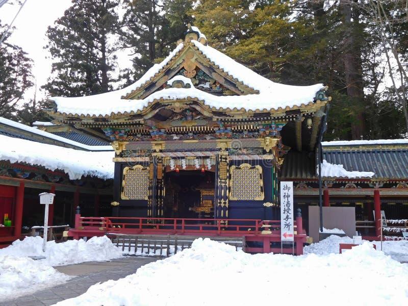 Toshoguheiligdom, Nikko, Japan royalty-vrije stock fotografie