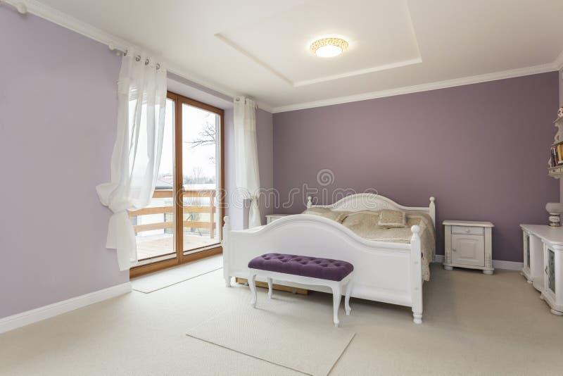 Toskana - Schlafzimmer stockfoto. Bild von dekoration - 30208284