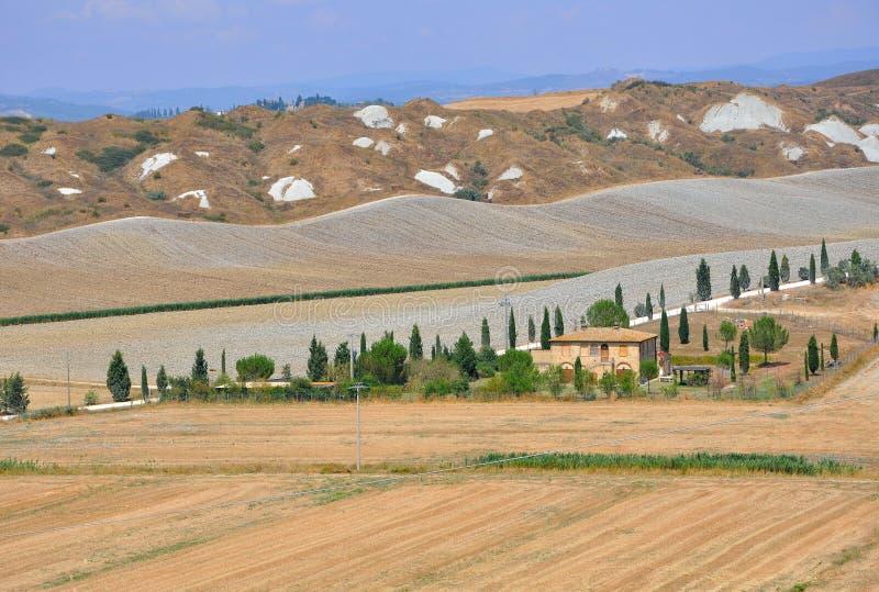 Toskana, Italien lizenzfreies stockbild